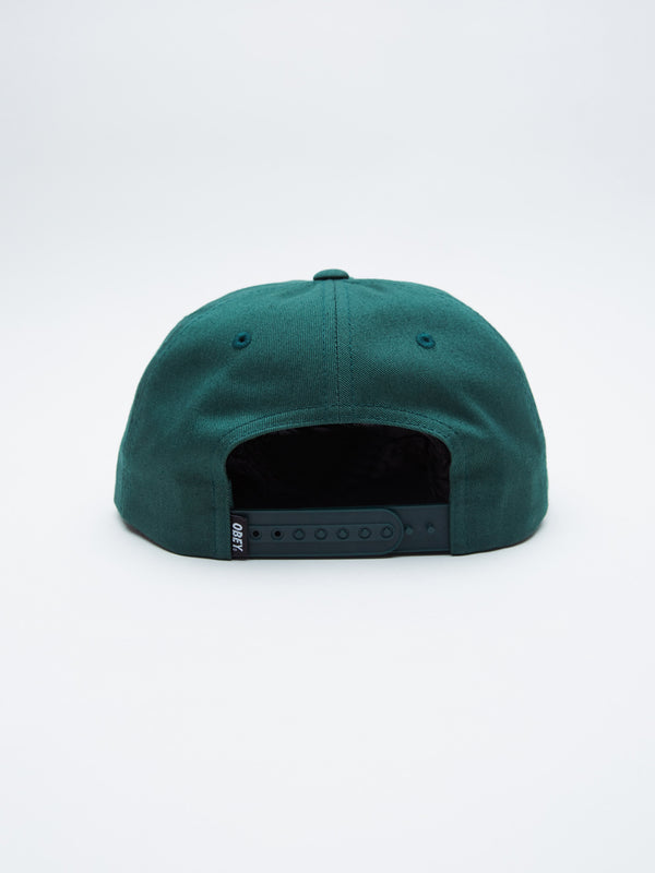Mission 6 Panel Snapback / Forest - West of Camden