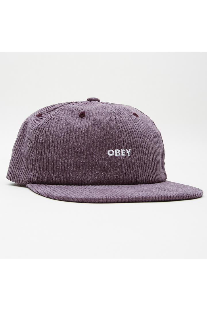 Column 6 Panel Strapback | Purple Mountain