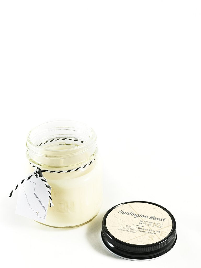 Huntington Beach Soy Candle - West of Camden