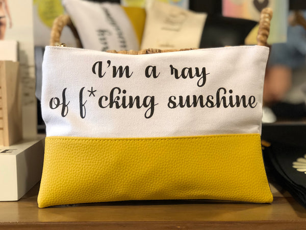 Ray of Sunshine Travel Bag - West of Camden