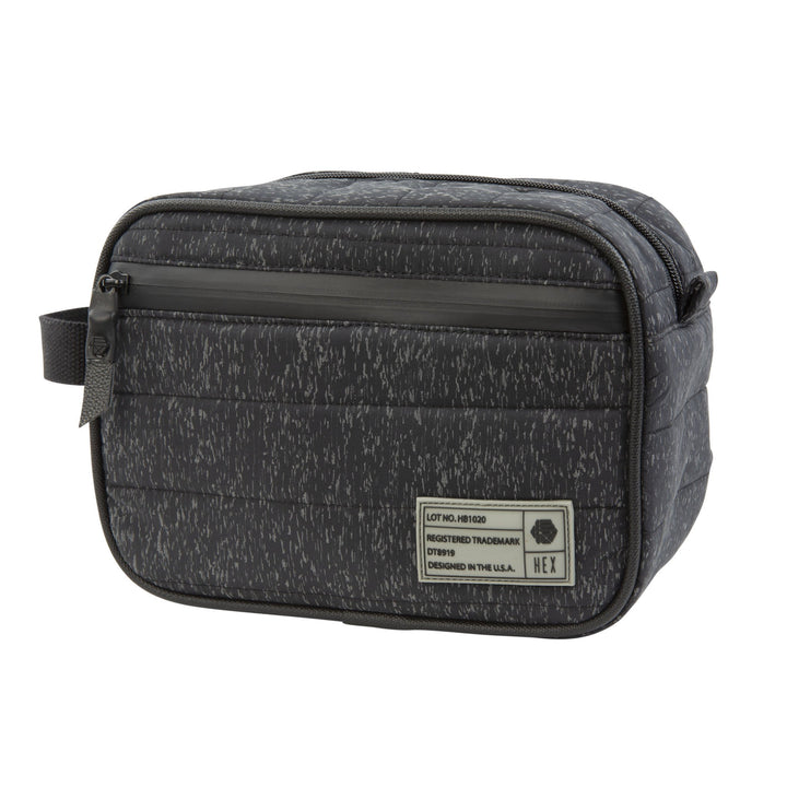 Galaxy Dopp Kit | Black Reflective - West of Camden