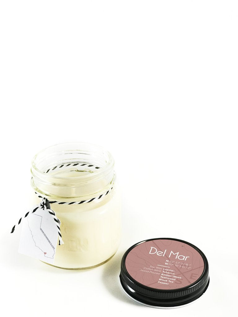 Del Mar Soy Candle - West of Camden
