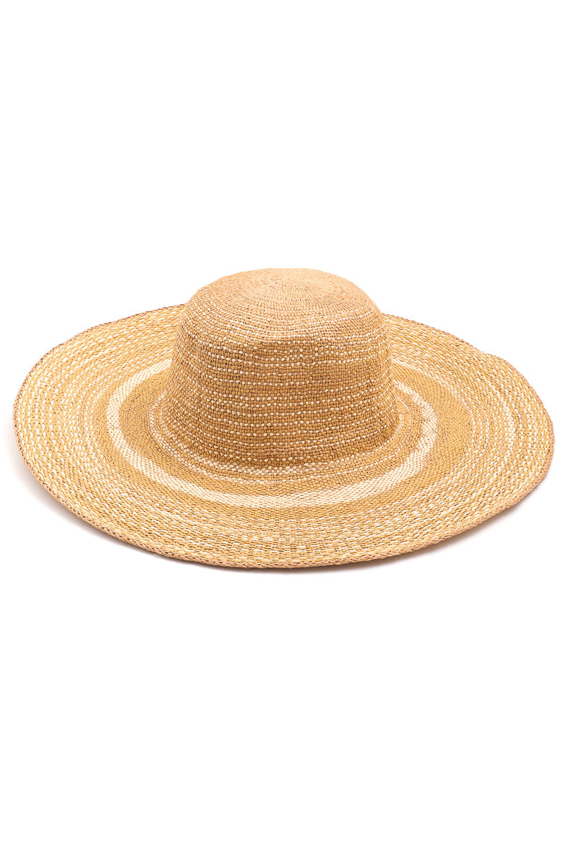 Straw Woven Sun Hat | Ivory