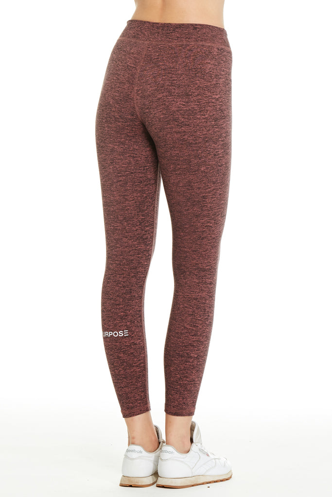 Purpose Logan Athletic Legging | H. Red - West of Camden