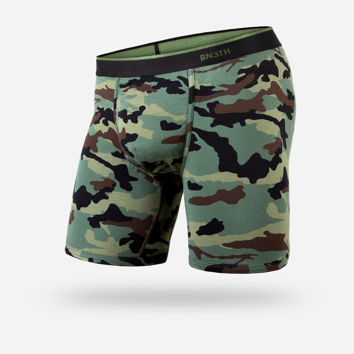 Classic Boxer Brief Print | Camo Green - West of Camden
