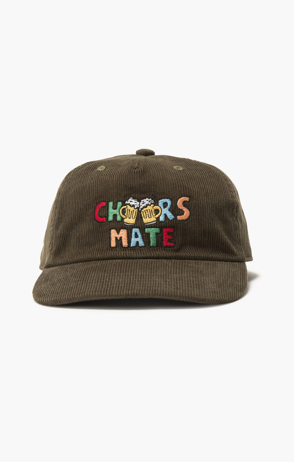 Cheers Mate 5 Panel | Olive Cord