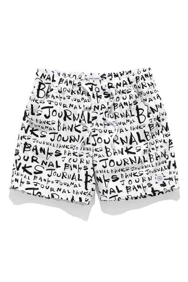 Dunkwell Banks JS Boardshorts | Off White