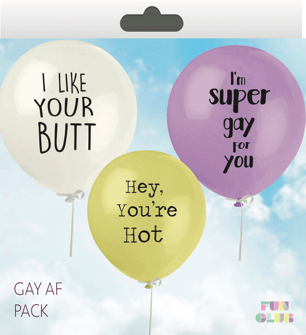 Gay AF Balloon Pack
