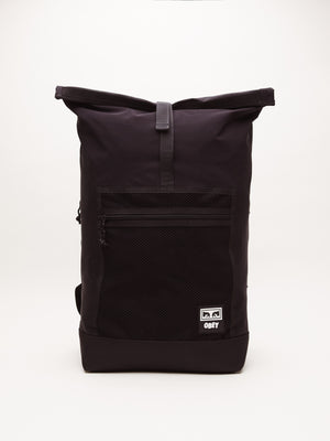Conditions Roll top Bag | Black - West of Camden
