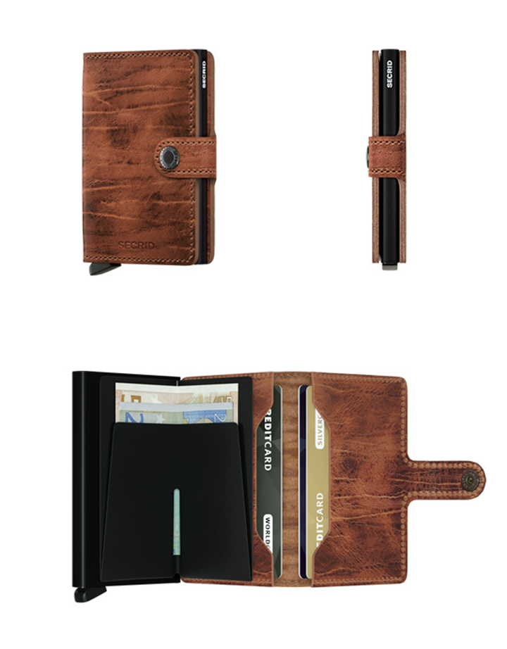 Miniwallet Dutch Martin | Whiskey - West of Camden