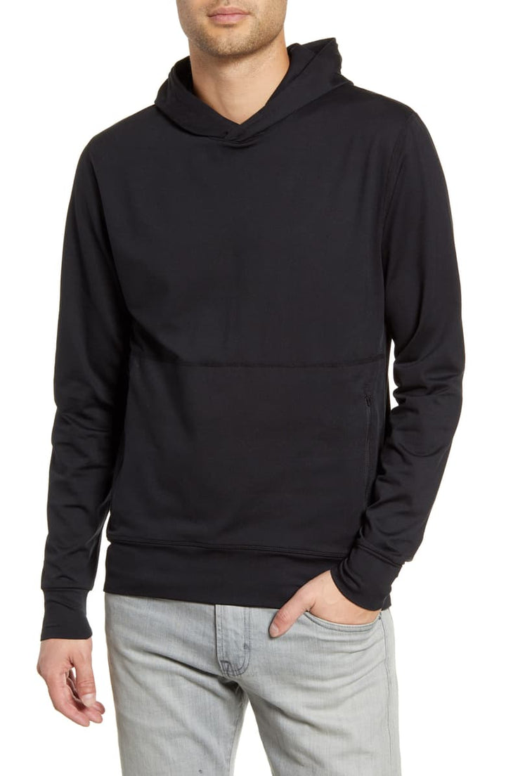 Ponto Performance Pullover | Black - West of Camden