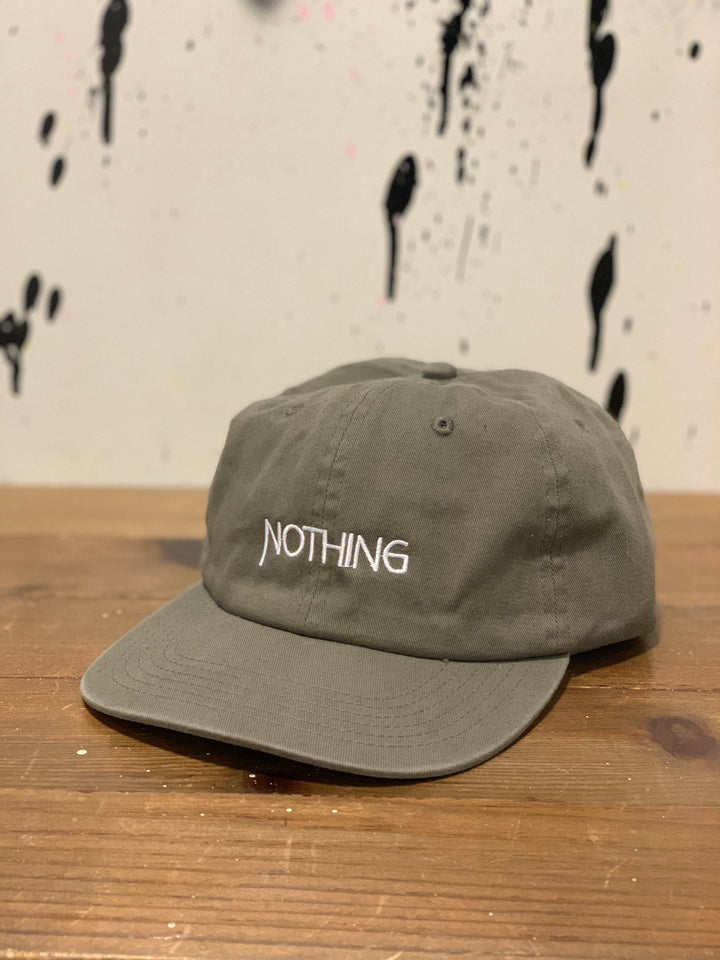 Nothing Unconstructed Cap | Washed Olive - West of Camden