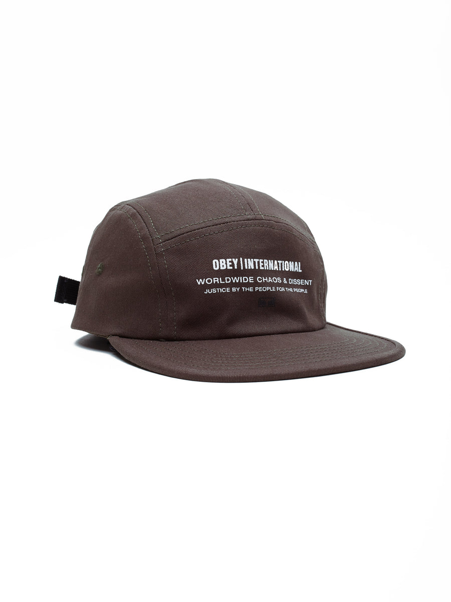 Integrity 5 Panel Hat / Army - West of Camden