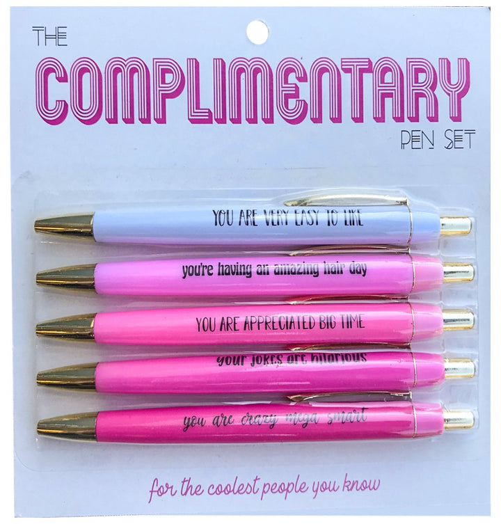 Complimentary Pen Pack - West of Camden