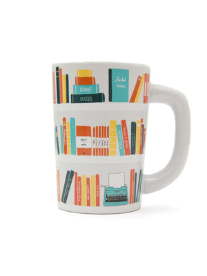 Bookshelf Mug - West of Camden