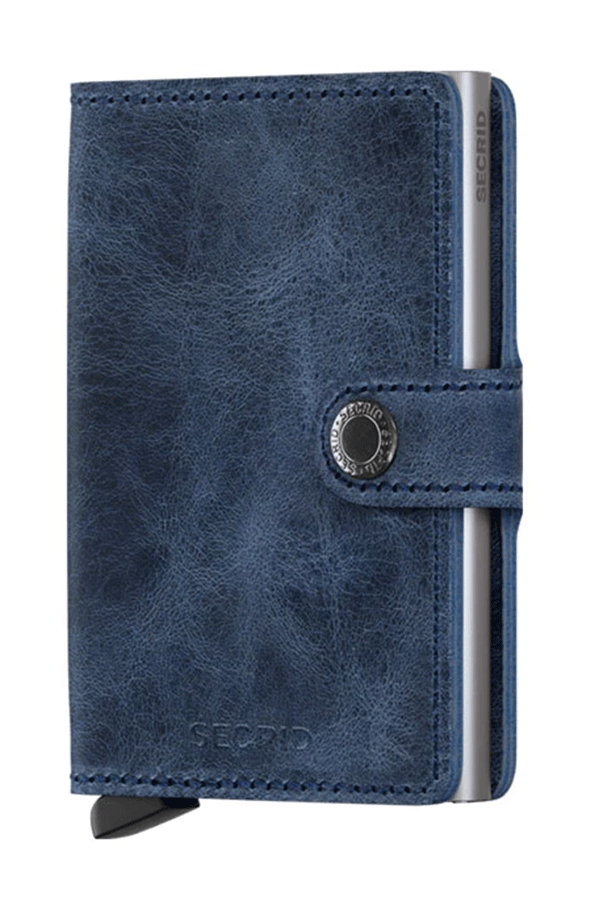 Miniwallet Vintage | Blue - West of Camden