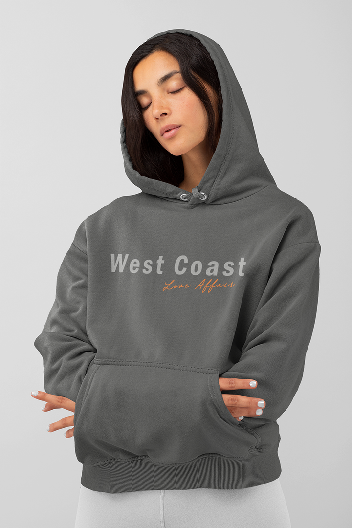 West Coast Affair Hoodie | Charcoal - West of Camden