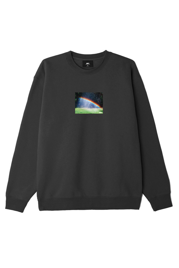 Rainbow Crewneck | Black