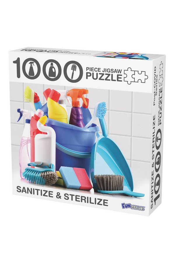 Sanitize and Sterilize Puzzle