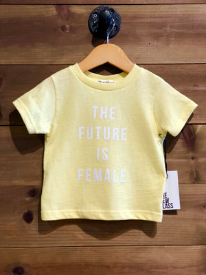 Future Is Female Tee | Yellow - West of Camden