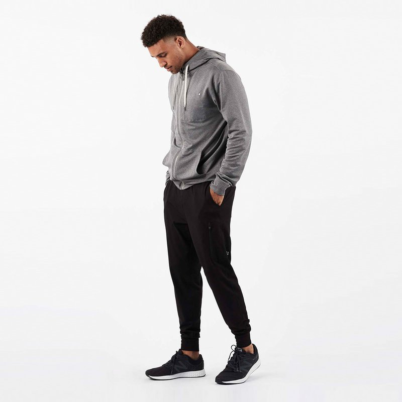 Sunday Performance Jogger | Black - West of Camden