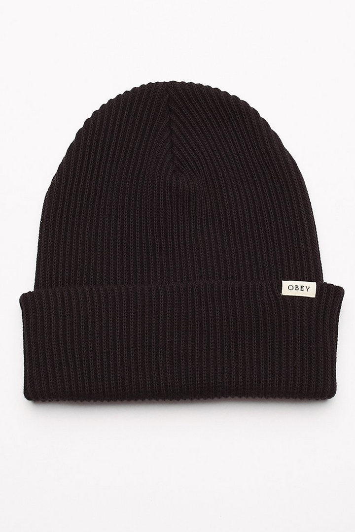 Ideals Organic Beanie | Black - West of Camden