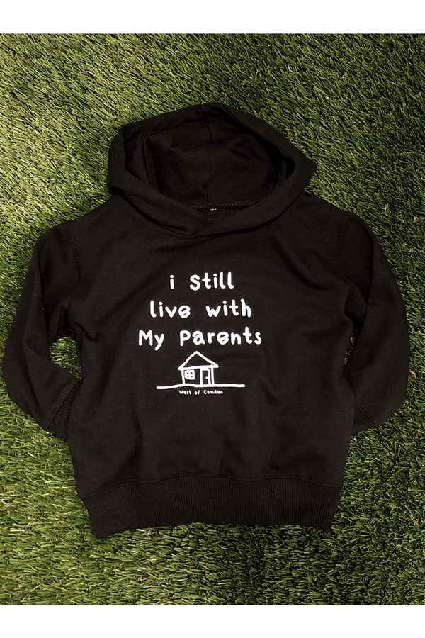 I Still Live Youth Hoodie | Black - West of Camden