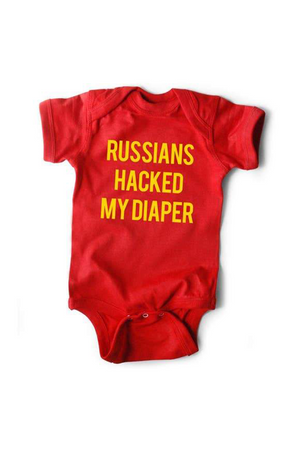 Russian Hack Onesie | Red - West of Camden