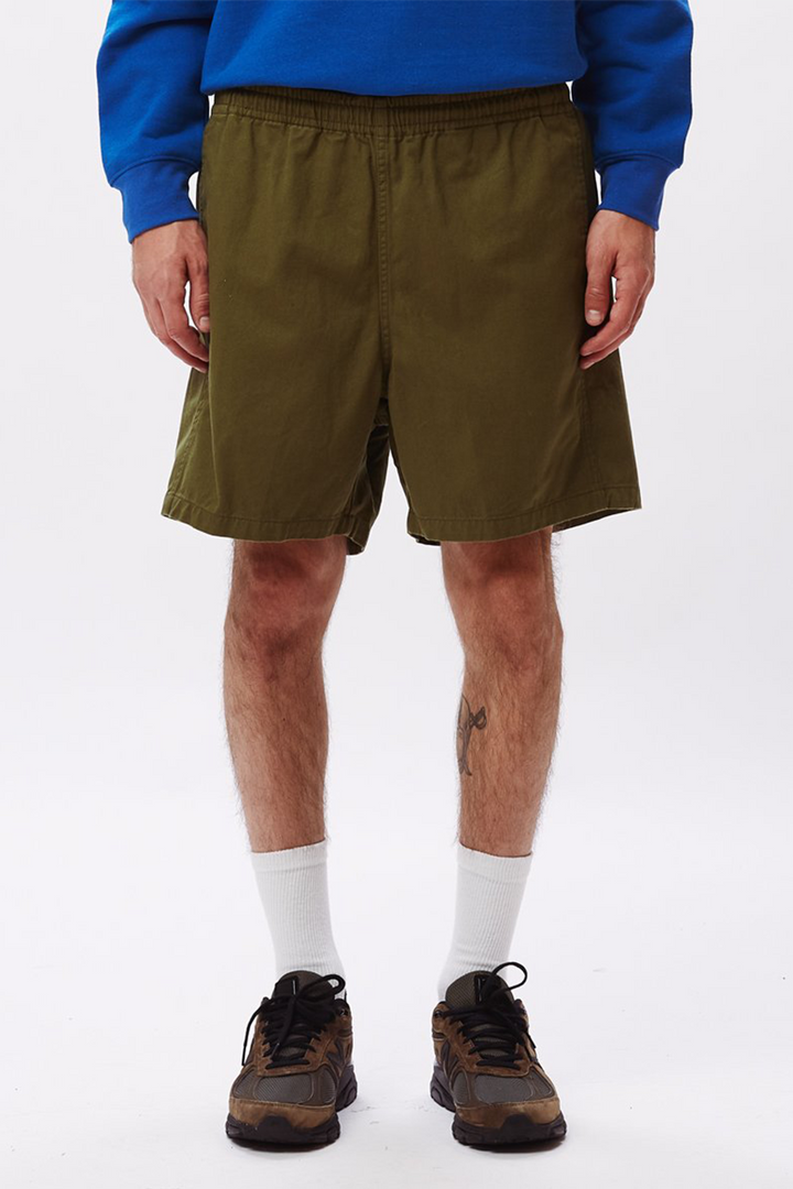 Ideals Organic Easy Short | Army - West of Camden