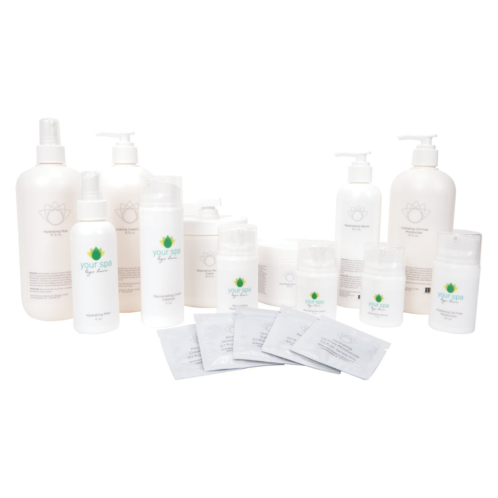 Professional Retail Opening Order Kit Your Brand Skin Care Universal Companies