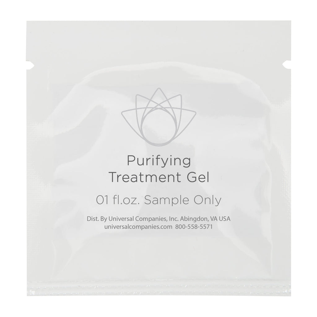Purifying Treatment Gel Sample