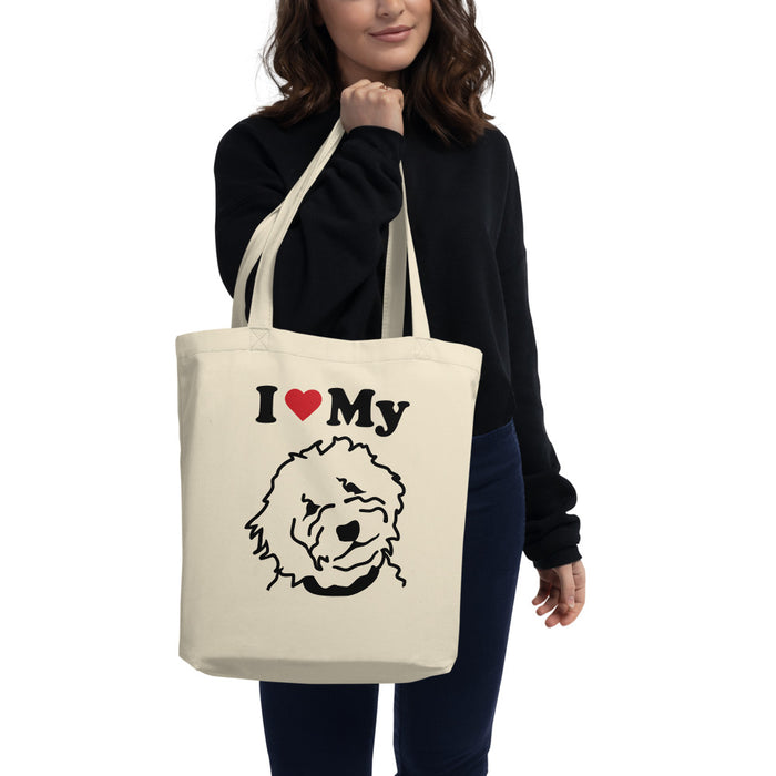 Goldendoodle Eco Tote Bag