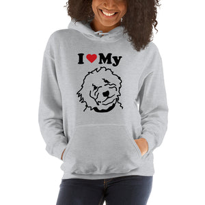 Goldendoodle Unisex Hooded Sweatshirt - Zabbow Goldendoodle Pet Products
