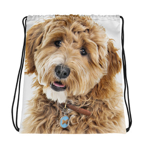 Goldendoodle Drawstring bag - Zabbow Goldendoodle Pet Products