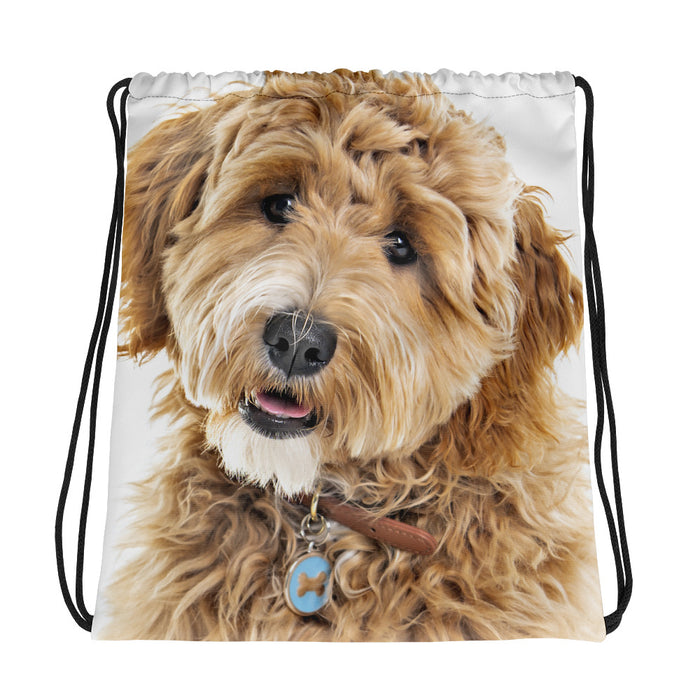 Goldendoodle Drawstring bag
