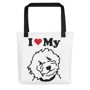 Goldendoodle Tote bag - Zabbow Goldendoodle Pet Products