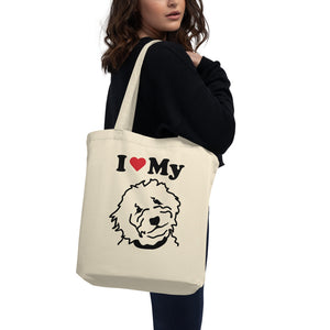 Goldendoodle Eco Tote Bag - Zabbow Goldendoodle Pet Products