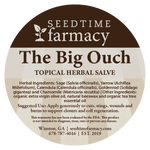 The Big Ouch - Topical Herbal Salve for Deeper Wound Support