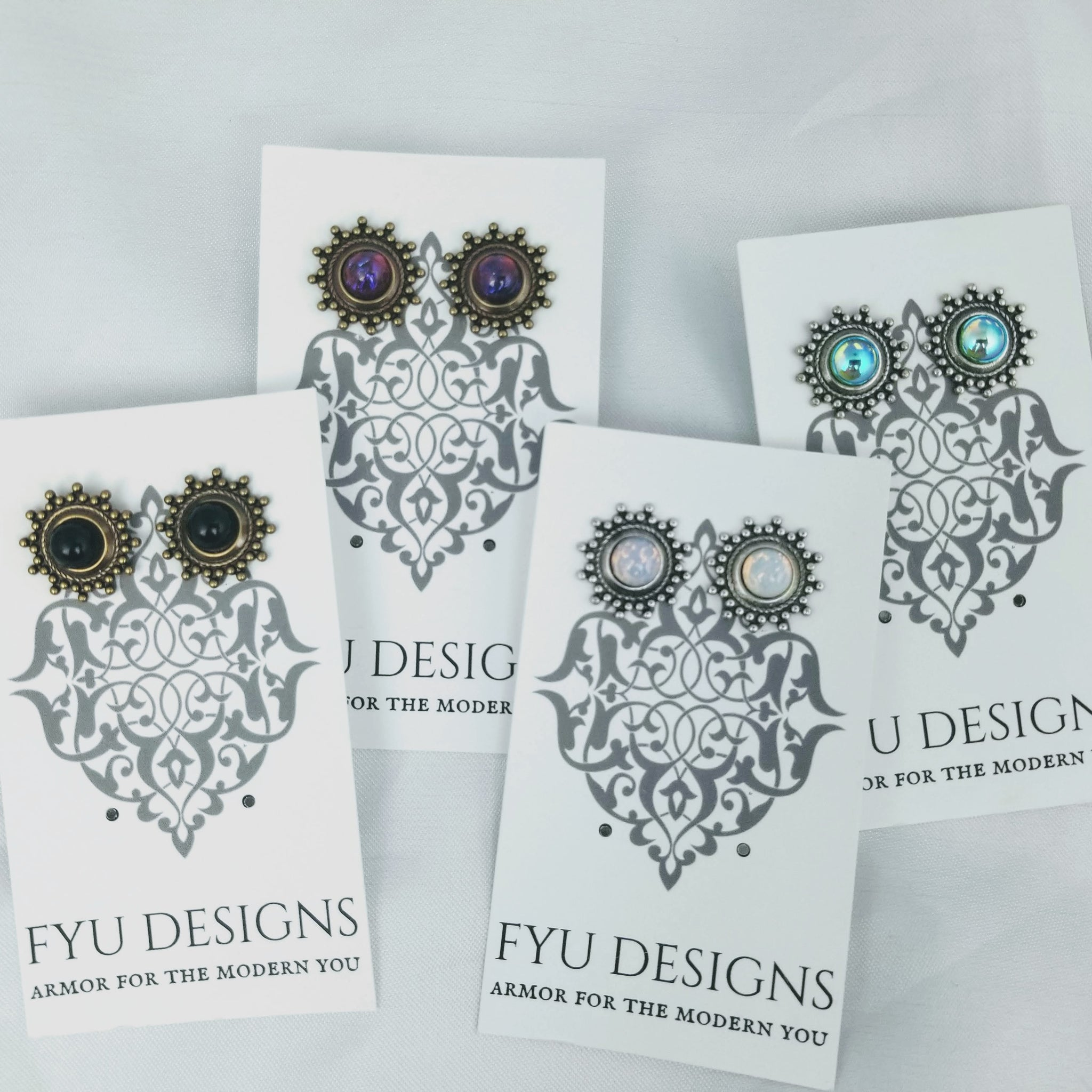 The Amara II Earrings | Gold - FYU DESIGNS