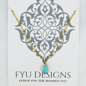 The Fortuna Necklace | Gold - FYU DESIGNS