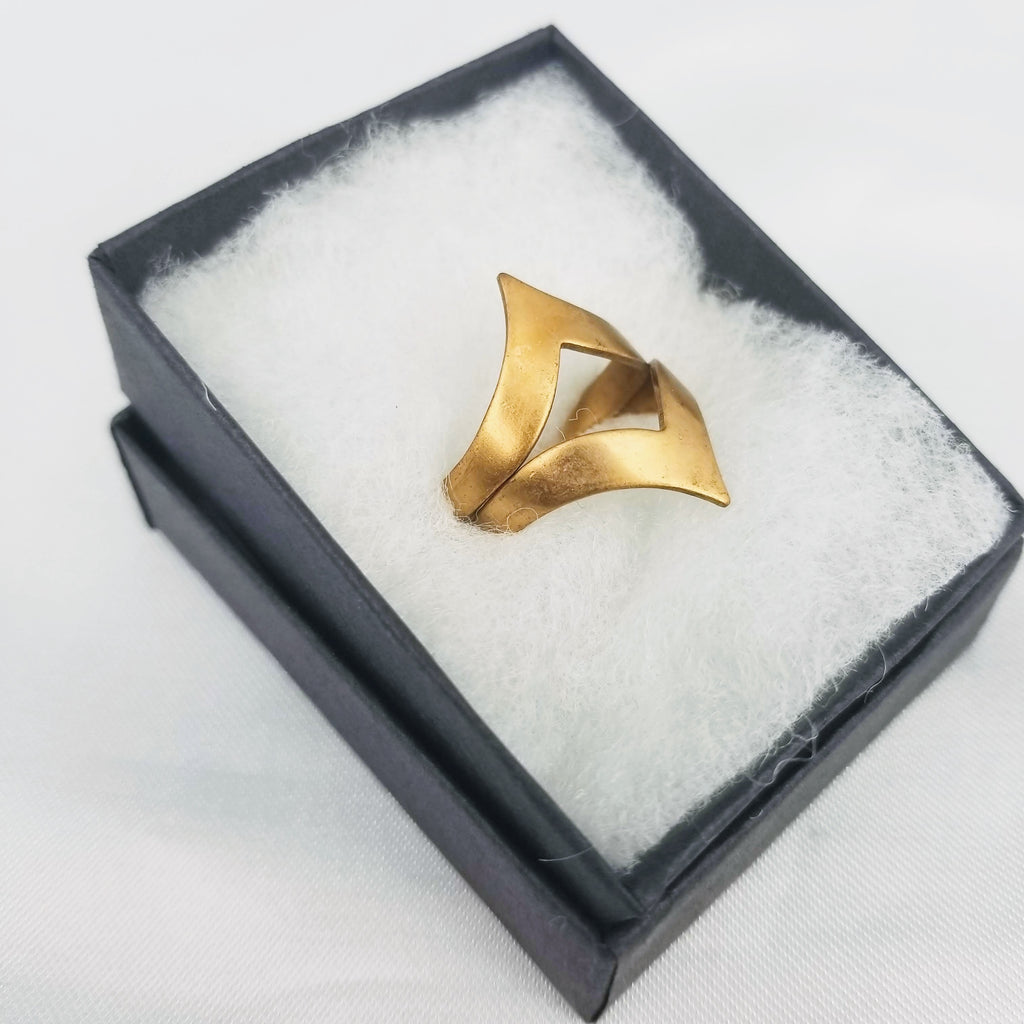 The Afterthought Ring | Gold - FYU DESIGNS