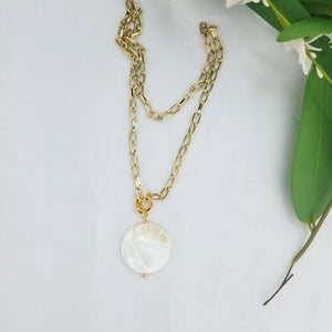 The Remnant Necklace | Gold - FYU DESIGNS