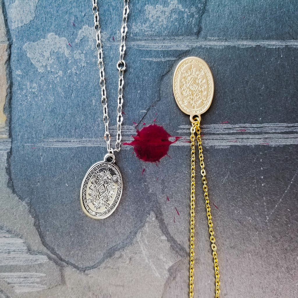 The Flora Necklace | Gold - FYU DESIGNS
