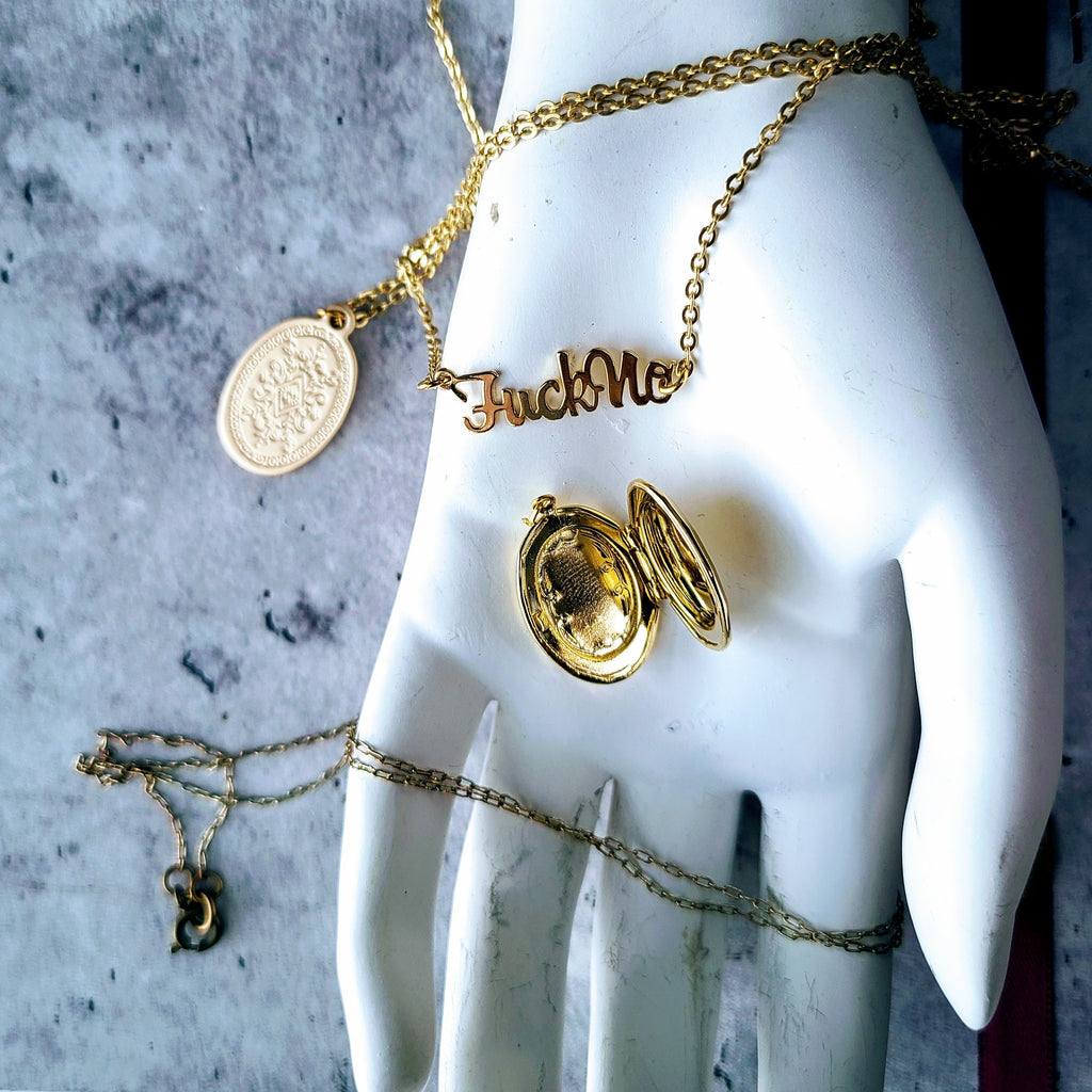 The Intentional Necklace | Gold - FYU DESIGNS