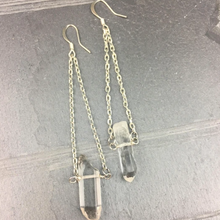 Load image into Gallery viewer, The Avril Earrings | Silver - FYU DESIGNS