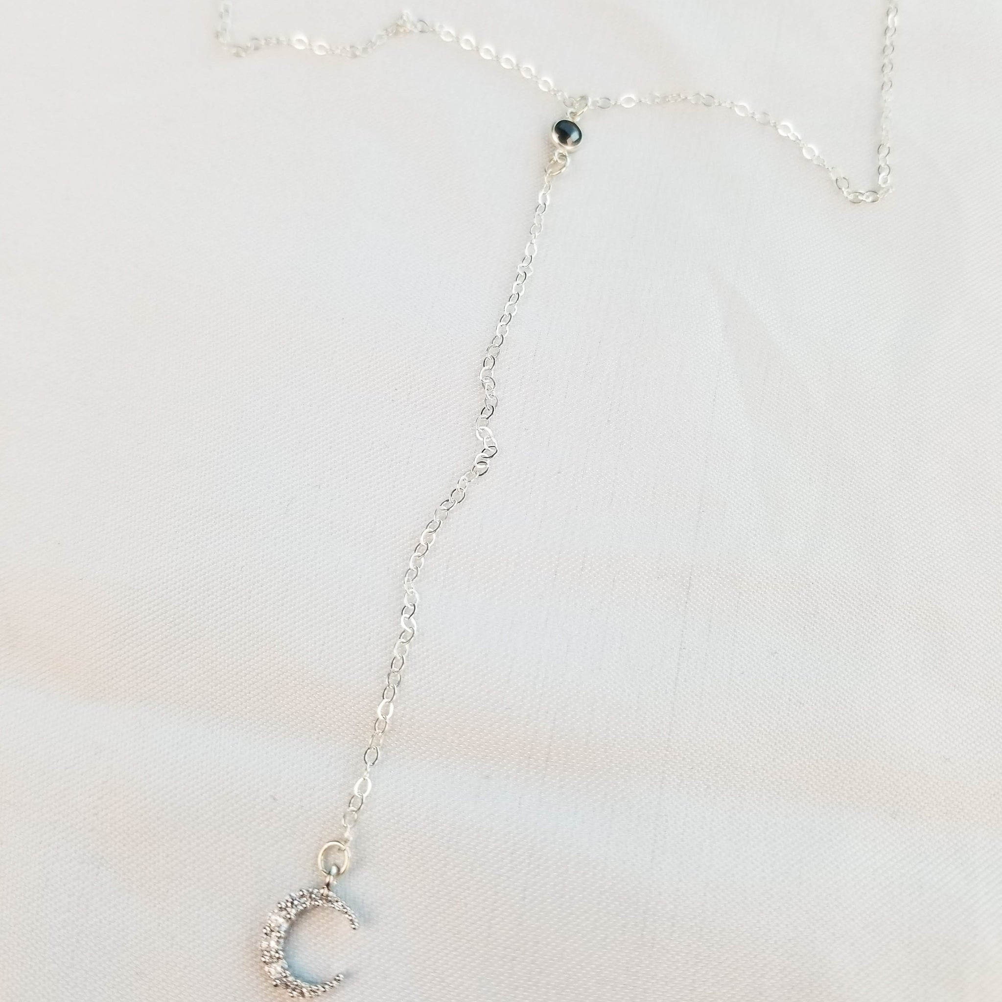 The Crater Necklace | Silver - FYU DESIGNS