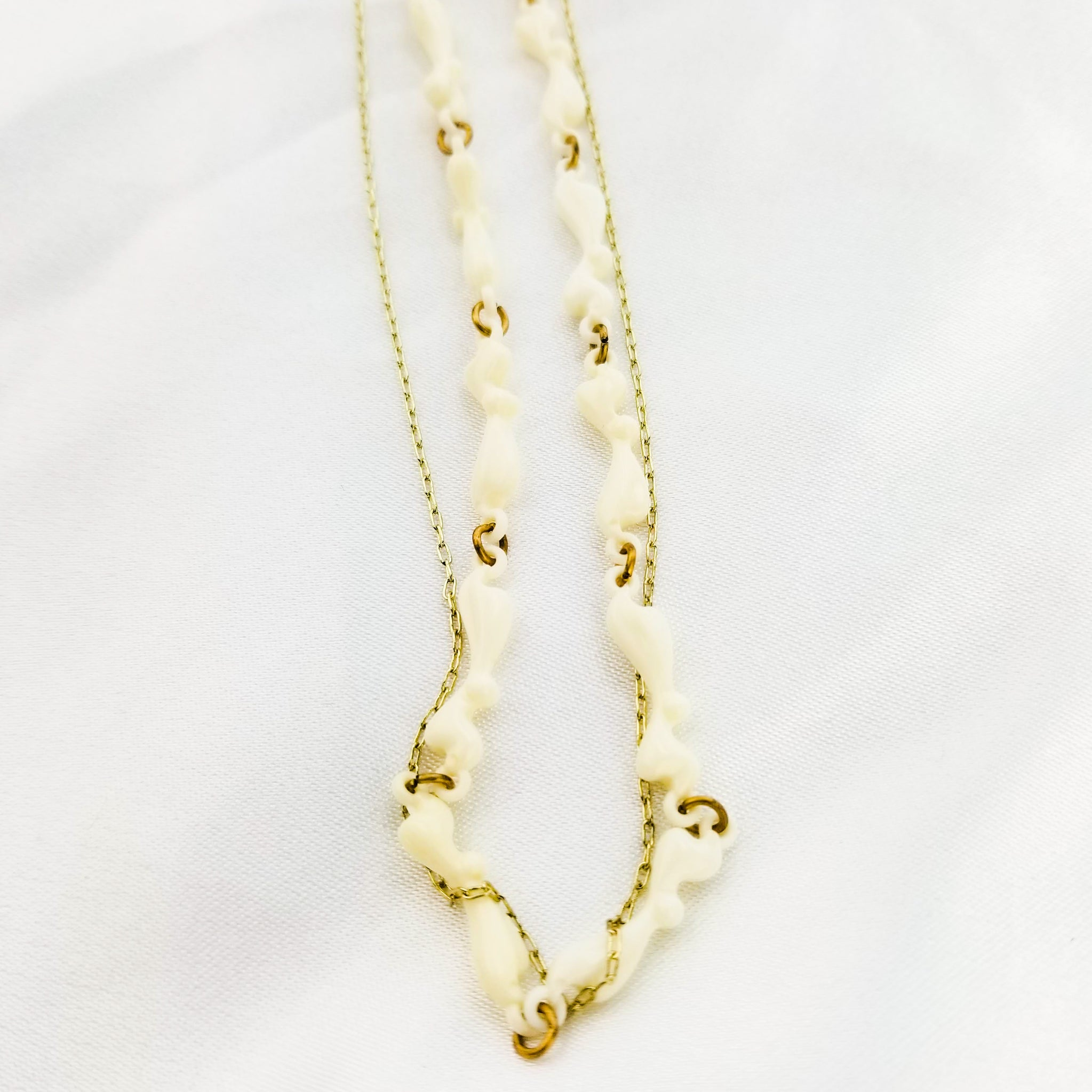 The Cypher Necklace | Gold - FYU DESIGNS
