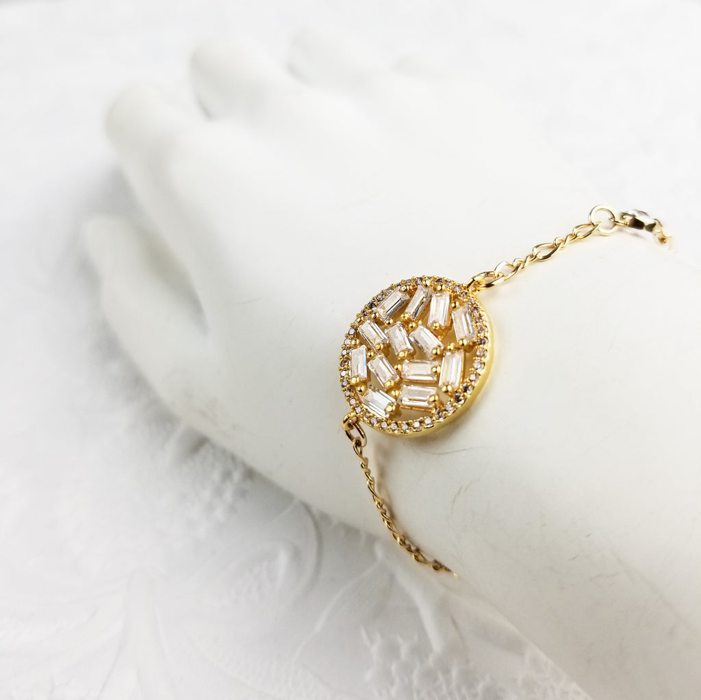 The Asteria Bracelet | Gold - FYU DESIGNS