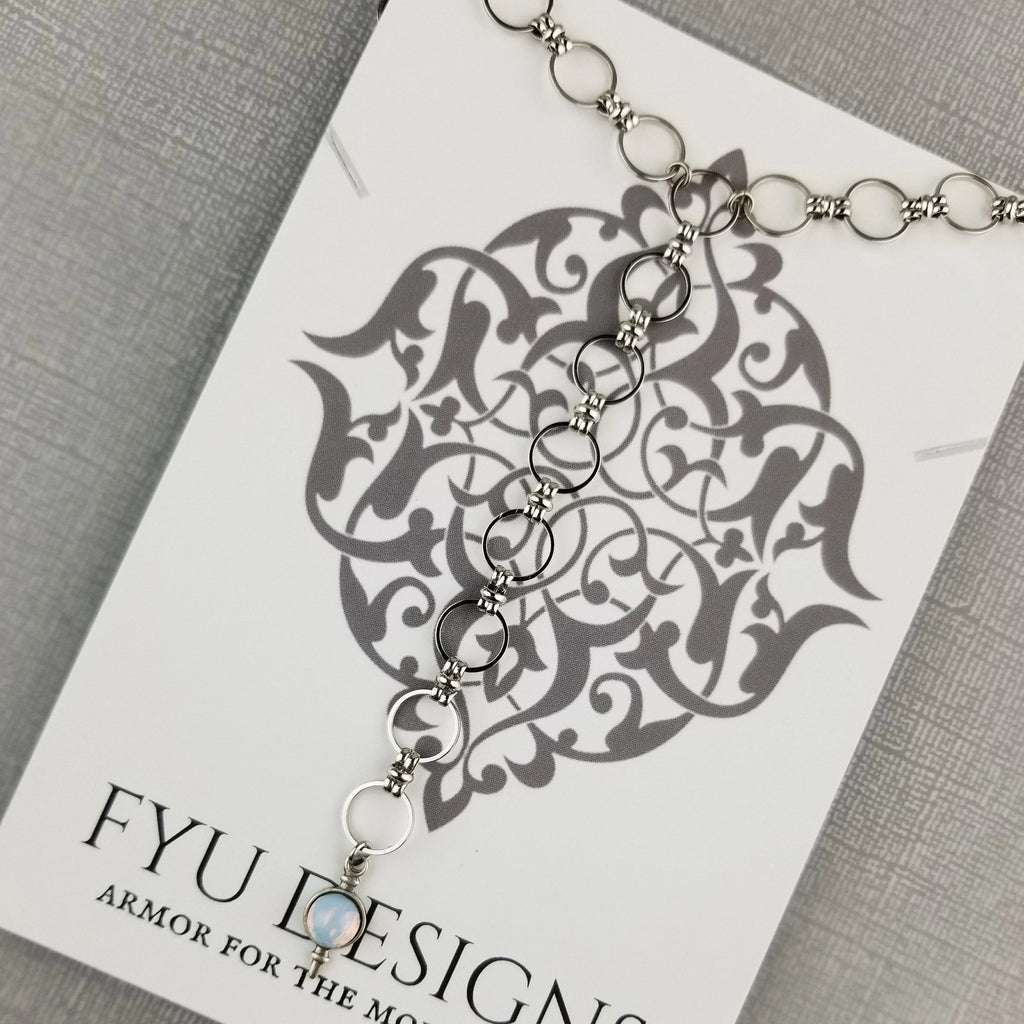 The Infinituum Necklace | Silver - FYU DESIGNS