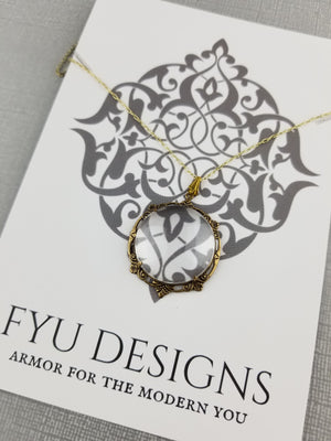 The Diviner Necklace | Gold - FYU DESIGNS